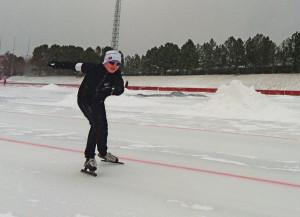 Martin Jeving Langli i fint (snø)driv!